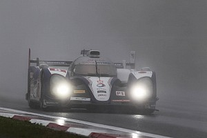 Rain dampens Toyota Racing's first place in Fuji