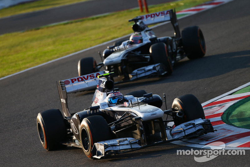 Williams F1 Team set for Indian Grand Prix