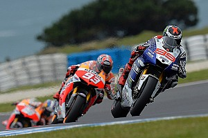 MotoGP Qualifying report Lorenzo masters wet Motegi for perfect pole