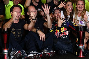 Infiniti Red Bull Racing makes history by claiming the quadruple double