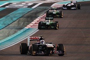 Formula 1 Race report A frustrating evening for Toro Rosso at the Yas Marina Circuit