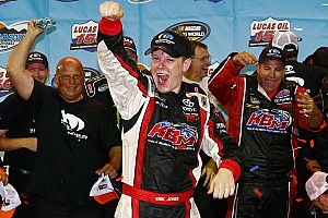 NASCAR Truck Race report Jones is wide awake and dreaming