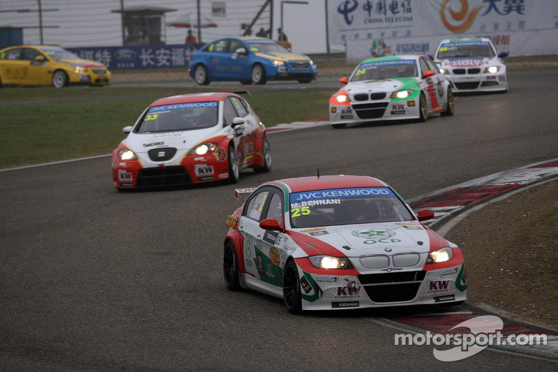 More weight for BMW and SEAT cars at season finale
