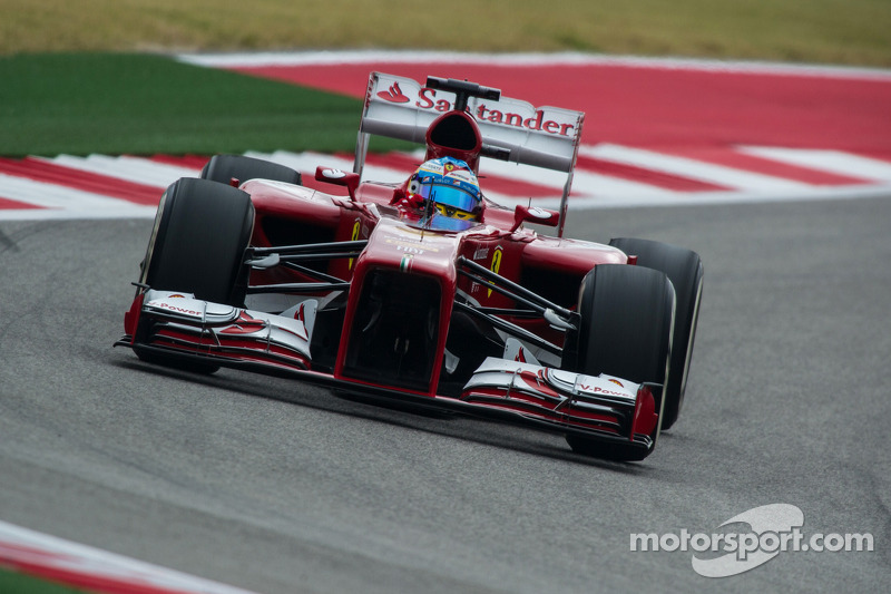 United States GP qualifying: Third row for Alonso, seventh for Massa