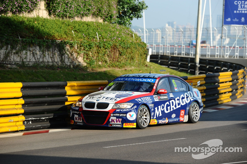 Tom Coronel concludes 2013 season in style with Macau podium finish - video