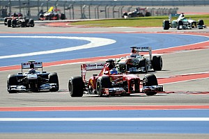 Formula 1 Race report Alonso  secured second place in the Drivers' championship at the United States GP