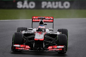Formula 1 Practice report McLaren: Enjoing the unpredictable Interlagos
