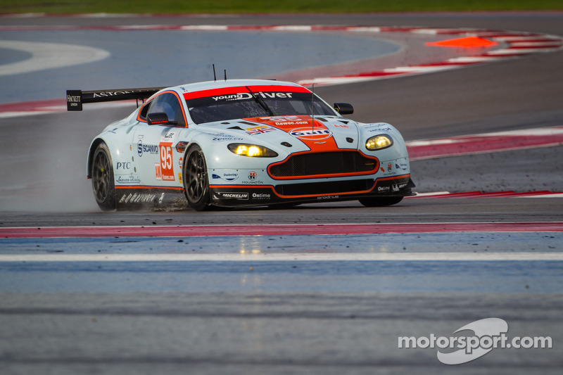 Young Driver AMR aims to end debut WEC season with victory