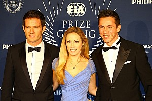 WRC Breaking news New champions in the WRC: Ogier, Ingrassia and Volkswagen recieve awards at Gala