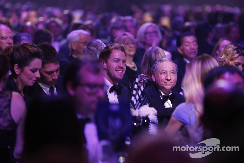 Lights, camera, champions: FIA Prize-Giving Gala 2013