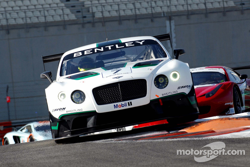 Continental GT3 finishes fourth at Gulf 12H for outstanding debut of new Bentley