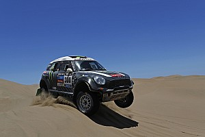 Dakar Stage report Peterhansel gives the Monster Energy X-raid Team its fifth stage win