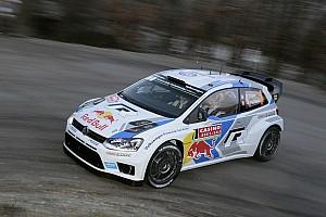 WRC Breaking news Ogier fastest in Rallye Monte-Carlo shakedown