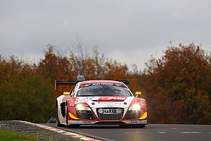 Six Audi R8 LMS ultra cars at Bathurst