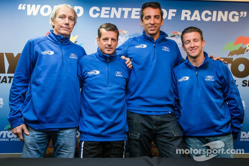 Justin Wilson returns to Daytona 24 with Michael Shank Racing