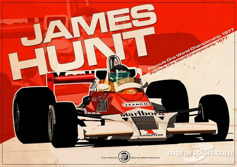 James Hunt to join The Hall of Fame