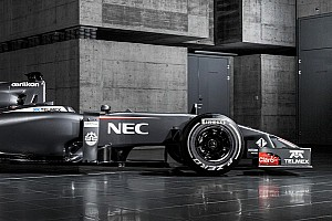 Technical details of the Sauber C33