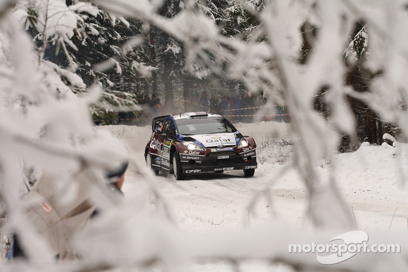 Snow, studs and spectacle: M-Sport sight Swedish success