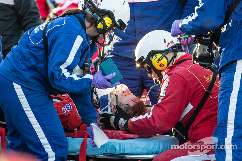Memo Gidley begins next chapter in recovery effort following accident in Daytona 24