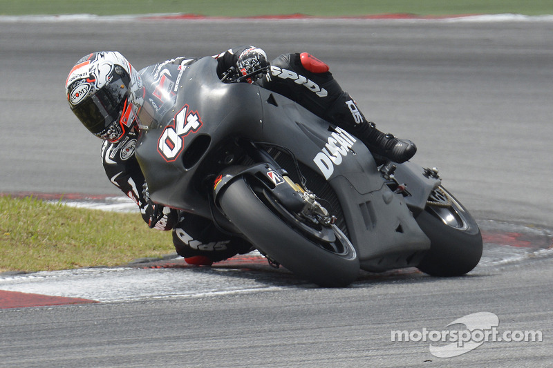 Ducati Team take home some satisfaction from first Sepang test