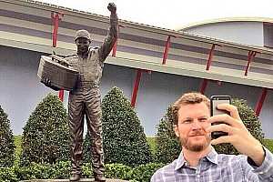NASCAR Sprint Cup Breaking news The Dale Earnhardt Jr. selfie