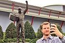 The Dale Earnhardt Jr. selfie