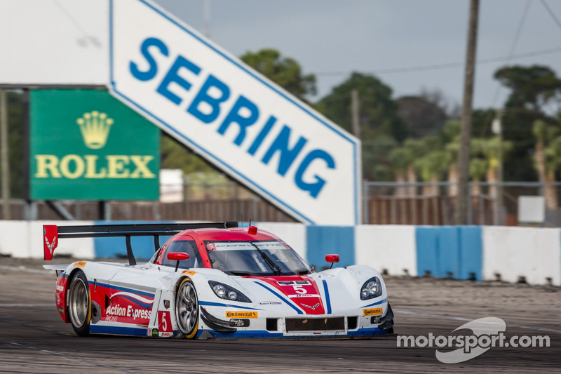 Corvette DP closes out Sebring Test on top