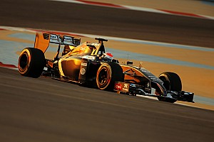 Sauber's Sutil gain experience on the soft and super soft tyre after 89 laps in Bahrain