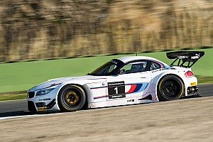 Blancpain Sprint Testing report Successful test for Alex Zanardi with the BMW Z4 GT3