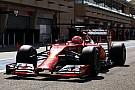 Ferrari: Final rehearsal for Raikkonen at the Sakhir Circuit