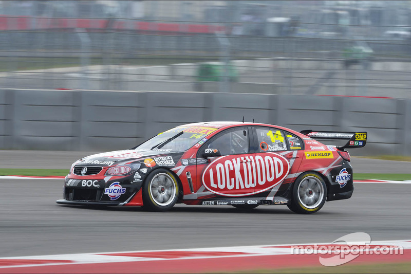 Fast and consistent day for Coulthard at Melbourne