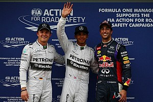 Hamilton lands pole, Ricciardo second in Melbourne
