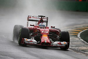 Ferrari on third and sixth rows at Australian GP