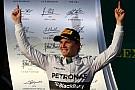 Rosberg runs away in Australia, Ricciardo second, Magnussen third