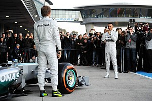 Hamilton still on track to beat teammate - Lauda