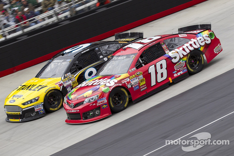 Kyle Busch on upcoming race at Auto Club Speedway