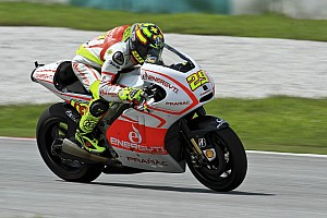 Good fourth place for Andrea Iannone at the Losail International Circuit