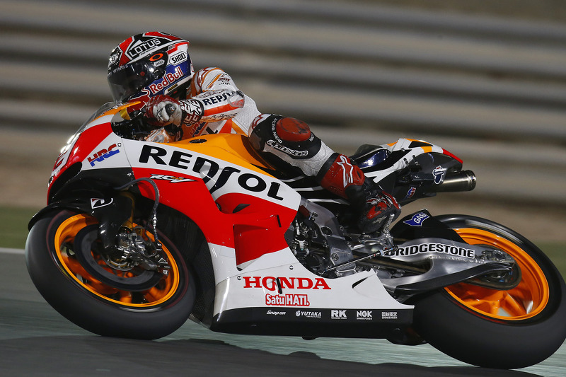 Bridgestone: Marquez takes victory in spectacular season opener in Qatar