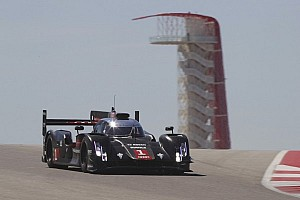 Audi COTA test: behind the scenes