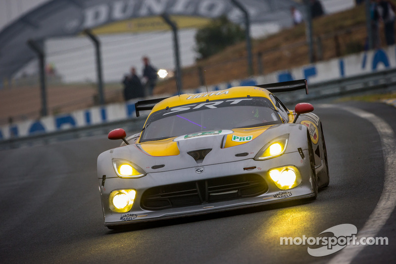 SRT Motorsports withdraws its Vipers from Le Mans