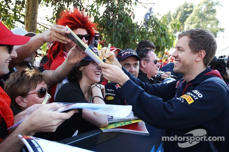 'Great' Vettel finally wins Laureus award