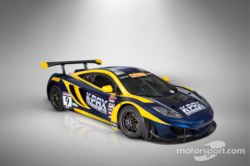 K-Pax Racing and its McLaren 12C GT3s set for World Challenge season-opener this weekend at St. Pete