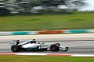 Another great practice for Mercedes drivers at Malaysia
