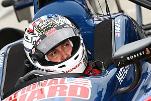 IndyCar Practice report Rahal second fastest in practice for season opener at St. Pete