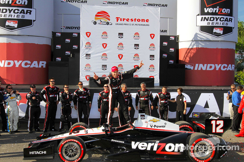 Team Penske St. Petersburg race report