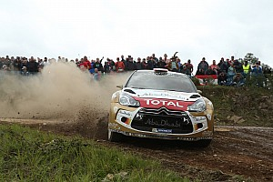 WRC Stage report Mads Østberg mixing it with the leaders in Portugal