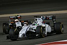 Williams' battle: Massa 7th, Bottas 8th on the Bahrain GP