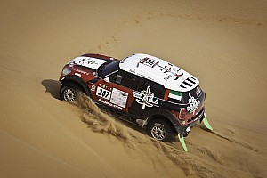 Other rally Leg report Vasilyev leading the Abu Dhabi Desert Challenge