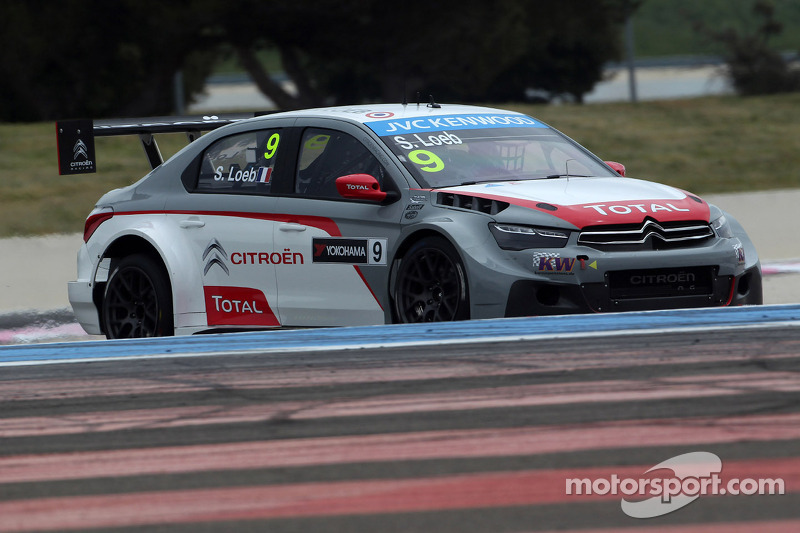 Sébastien Loeb leads Citroën 1-2-3 in qualifying