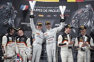 Blancpain Sprint Race report Impressive win by Mercedes-duo Götz and Buhk in opening round of 2014
